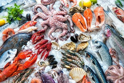Em adultos, as alergias alimentares mais comuns são a frutos do mar (foto), amendoim e frutas secas (Foto: iStock/Getty Images)