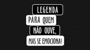 A campanha foi criada por Marcelo de Carvalho, deficiente auditivo, que se sentiu excluído ao participar de festivais de cinema ()