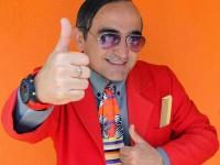 Além da Escolinha do Professor Raimundo, João Neto também fez participações nos programas de Tom Cavalcante e Faustão (Foto: Reprodução/Internet)