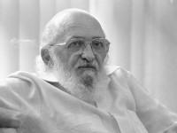 Paulo Freire em foto de 1989 (Foto: Silvio Correa/Agência O Globo)