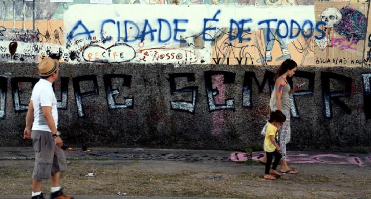 Estar presente nos espaços públicos é uma forma de resistir à violência e diminuir a segregação social (Foto: Observatório das Metrópoles)