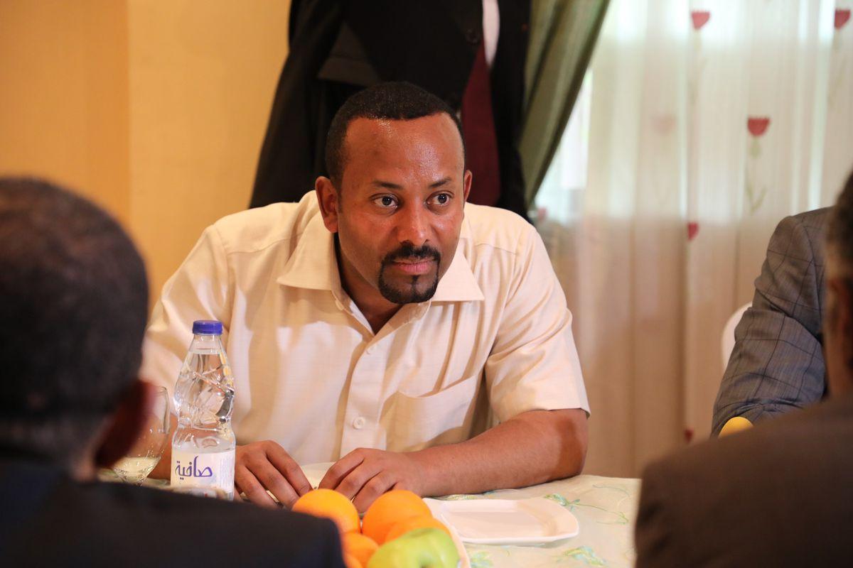 O Primeiro-ministro da Etiópia Abiy Ahmed Ali foi o ganhador do Prêmio Nobel da Paz em 2019 (Foto: Mahmoud Hjaj/Anadolu Agency via Getty Images)