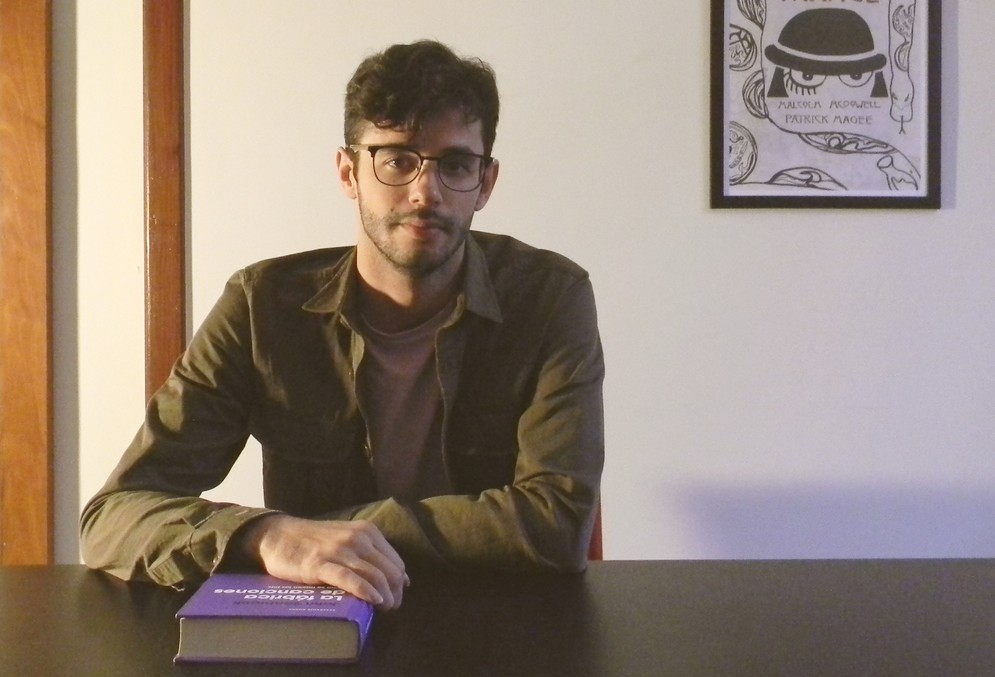 O pesquisador Rafael Azevedo se dedicou aos estudos sobre Brega Paraense por 5 anos. Para a pesquisa de campo, ficou hospedado em Belém por 20 dias, entre outubro e novembro de 2016 (Foto: Arquivo Pessoal)
