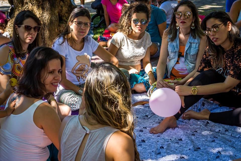 A ONG Parto Normal surgiu a partir de um grupo de Facebook criado para divulgar informações e relatos sobre gravidez. Em novembro de 2019, a Organização promove evento com Carlos González, renomado médico pediatra espanhol (Foto: Natália Freire/ Parto Normal Fortaleza)