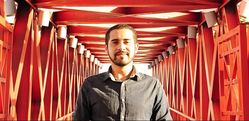 O jornalista Diego Benevides trabalha com críticas de cinema há mais de 14 anos (Foto: Arquivo Pessoal)