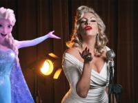 Em suas apresentações, a cantora Taryn aposta na teatralidade (Foto: Rodrigo Castro / Disney Studios)