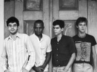 A formação original do Legião Urbana: Renato Russo, Renato Rocha, Dado Villa-Lobos e Marcelo Bonfá (Foto: Arquivo Pessoal)