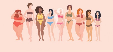 O Movimento Body Positive (traduzido para o português como Positividade Corporal) é você ter um olhar positivo e sincero para com a sua imagem e também a dos outros. É deixar de lado padrões do que é ser feio ou bonito (Foto: Reprodução/Internet)