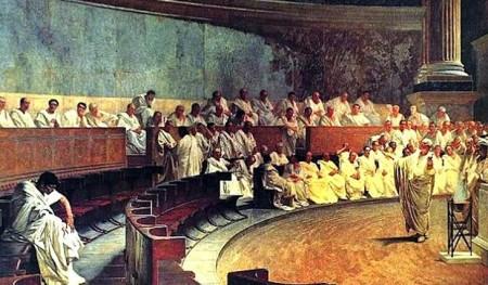 Na democracia ateniense, somente os homens tinham direito ao voto (Foto: Reprodução/Internet)