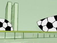 O futebol é considerado o esporte mais popular do mundo. Percebendo o prestígio desse esporte, muitos governantes enxergam o futebol como uma oportunidade de colocar em prática os seus projetos de poder (Imagem: Reprodução/Jornal da Economia)