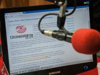 A Rádio Universitária FM é uma emissora da Fundação Cearense de Pesquisa e Cultura, vinculada à Universidade Federal do Ceará (Foto: Viktor Braga/UFC)