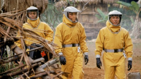 """No filme """"Epidemia"""", de 1995, as equipes de saúde combatem um vírus desconhecido (Foto: Reprodução/Internet)"""