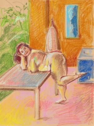 Corpos diversos são expostos em Nudes de Quarentena, de Raisa Christina. Para a artista visual, é uma decisão política (Imagem: Raisa Christina)