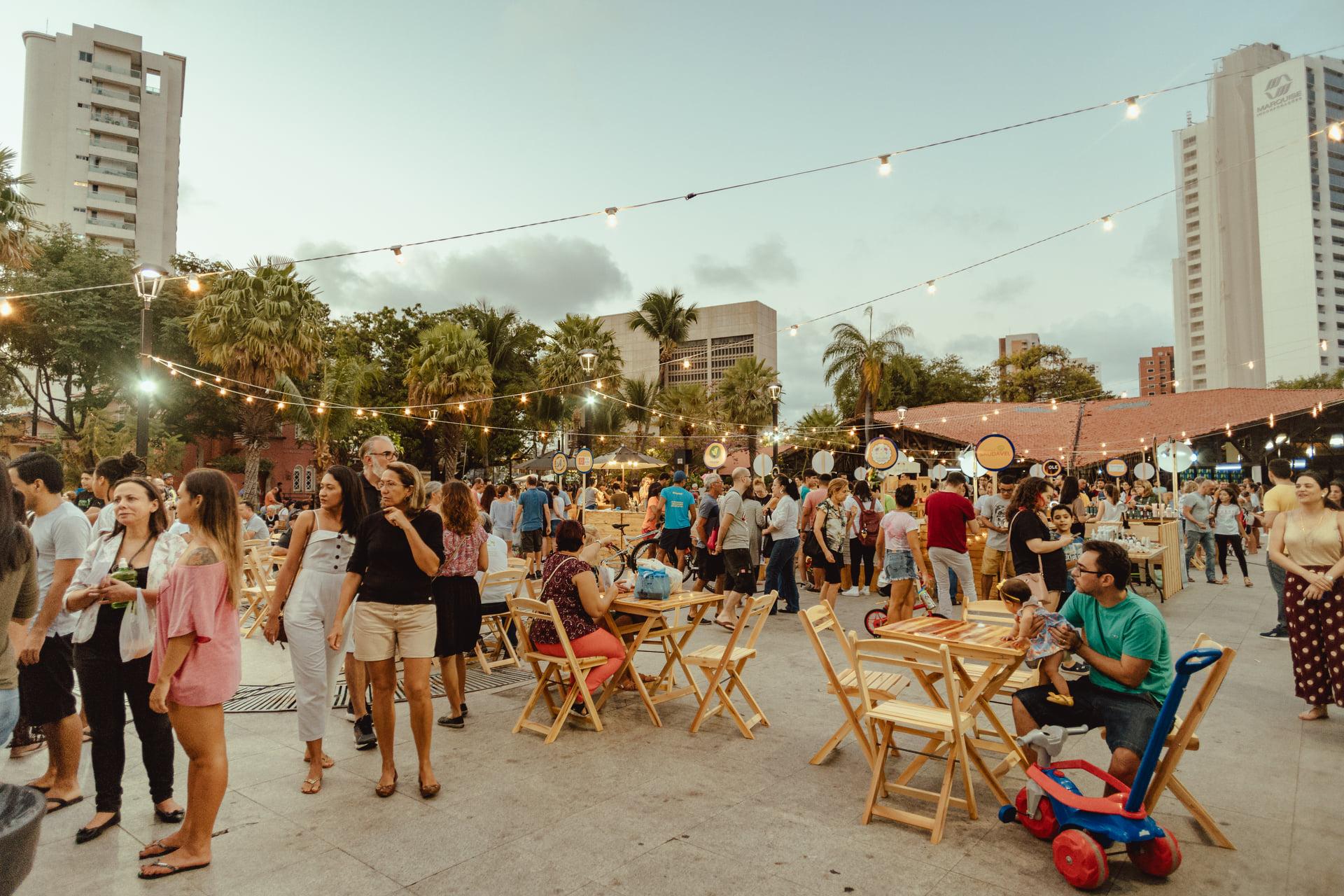 O Festival Navegano acontece em Fortaleza desde 2018, reunindo produtores locais (Foto: Divulgação/Festival Navegano)
