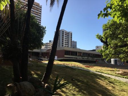 A Residência Benedito Macedo tem projeto arquitetônico assinado pelos arquitetos Acácio Gil Borsói e Janete Costa, e paisagismo de paisagismo de Roberto Burle Marx (Foto: Thais Vieira)