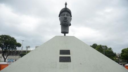 Monumento Zumbi dos Palmares, o primeiro em homenagem a uma pessoa negra no Brasil  (Foto: Tomaz Silva/Agência Brasil)