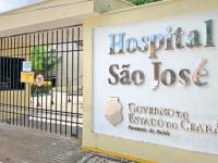 Além do tratamento, o Hospital São José realiza pesquisas científicas sobre a Covid-19 (Foto: Divulgação/ Governo do Ceará )