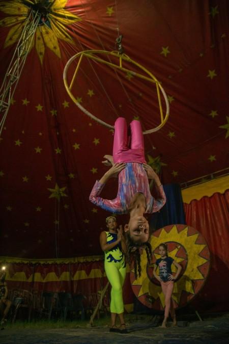 A Escola Pública de Circo pode vir a ser um centro de referência em pesquisa e difusão da arte circense em Fortaleza (Foto: Thiago Matine)