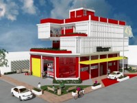 O novo quartel vai atender os bairros Aldeota, Dionísio Torres, Meireles, Cocó, Guararapes e região (Imagem: ASCOM/Corpo de Bombeiros)
