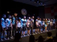 O Coral Canto da Casa  trabalha teoria musical e técnicas vocais com jovens de escolas públicas de Fortaleza (Foto: Viktor Braga)