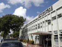 Fachada do HUWC, no Campus Porangabuçu da UFC, em Fortaleza (Foto: Jr. Panela/UFC)