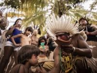 Festa do Milho na Reserva Indígena Pitaguary, no Ceará (Foto: Thiara Montefusco)