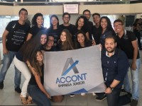 A Account é uma das empresas juniores que existem dentro da UFC. O projeto, do curso de Ciências Contábeis, desenvolve projetos específicos para a área (Foto: Clara Laurindo/Account)