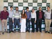 Estudantes da UFC que participaram do projeto com a empresa de cimento Apodi (Foto: Reprodução/UFC)