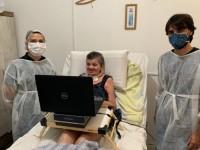 O objetivo do software é dar uma alternativa de comunicação a pacientes que estão impossibilitados de comunicação por fala ou até movimentação dos braços (Foto: Divulgação)
