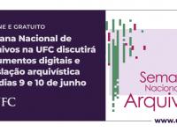 As inscrições da V Semana Nacional de Arquivos são realizadas no início de cada atividade (Foto: Divulgação)