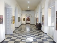 Neste ano, foram avaliadas 221 obras, das quais foram escolhidas as 35 que compõem a exposição (Foto: Alex Gomes)