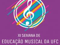 A programação completa da XI SEMU está no perfil de Instagram do Centro Acadêmico de Música, no @camusicaufc (Foto: Divulgação)