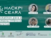 O Hackathon para a Primeira Infância Cearense é um evento gratuito, e as inscrições podem ser feitas por links nos perfis @lepesusp e @ufcinforma, no Instagram (Foto: Divulgação)