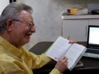 Minuto da Língua com professor Olímpio (Foto: Arquivo Pessoal)