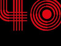 Rádio Universitária FM celebra 40 anos em 2021 (Foto: Logo comemorativa/RUFM)