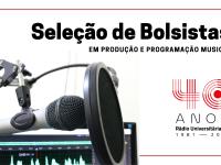O processo seletivo considerará o desempenho em workshop ministrado por profissionais da emissora